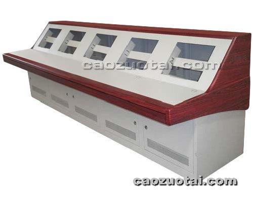 操作台网提供生产钢木结合豪华琴式控制台厂家