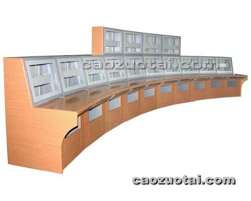 操作台网提供生产弧形豪华操作平台厂家