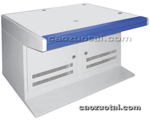 操作台网提供生产双联全钢制操作台厂家