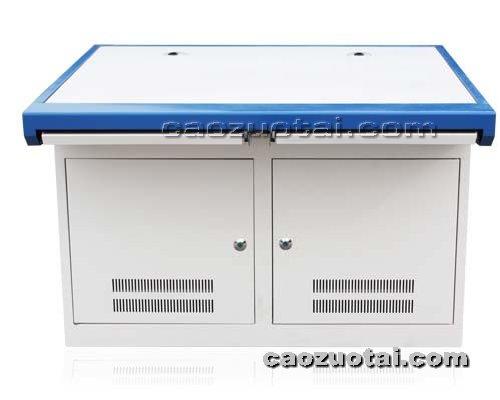 操作台网提供生产二联铝型材操作台厂家
