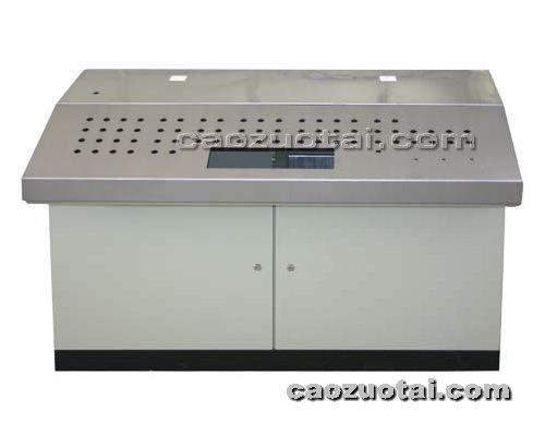操作台网提供生产双联不绣钢操作台厂家