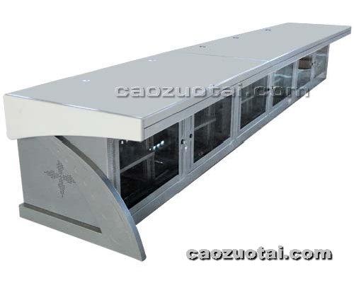 操作台网提供生产监控不绣钢中心操作台厂家