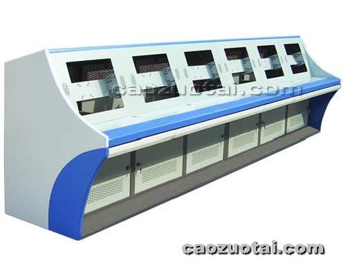 操作台网提供生产豪华监控墙操作台加工厂家