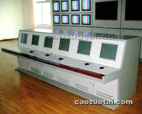 操作台网提供生产普通六联监控操作台厂家