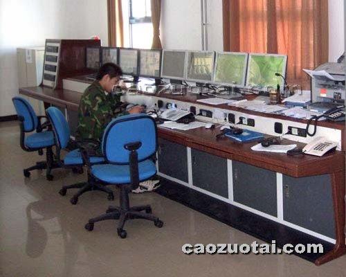 操作台网提供生产豪华复式多孔监控操作台厂家