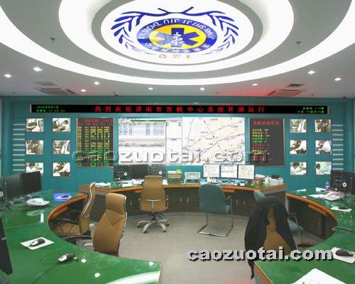 操作台网提供生产弧形电视墙厂家
