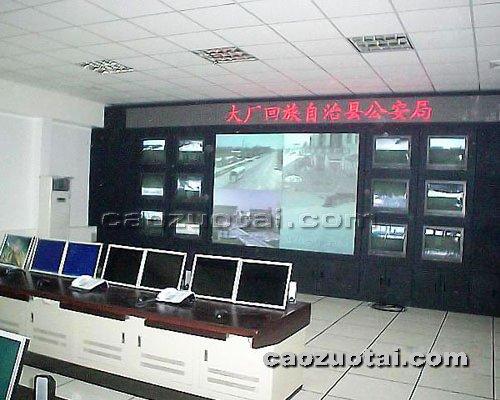 操作台网提供生产豪华电视墙厂家