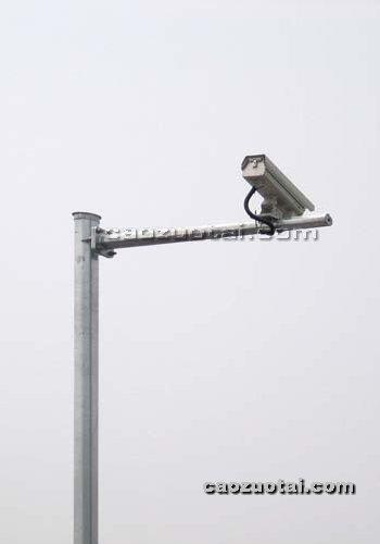 操作台网提供生产锥形监控立杆厂家