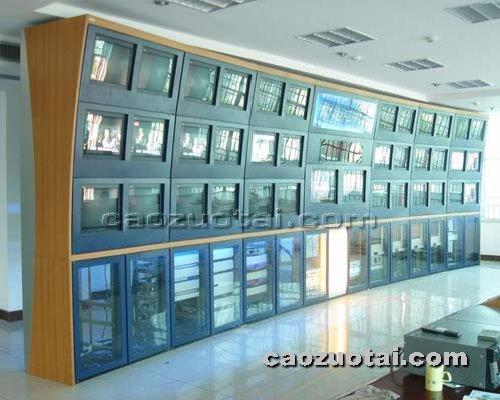 操作台网提供生产全钢电视墙厂家