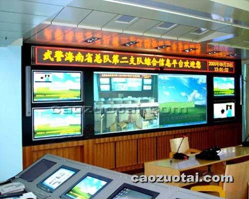 操作台网提供生产液晶电视墙厂家