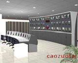 白光板电视墙