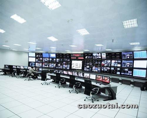 操作台网提供生产大屏幕液晶背头电视墙厂家