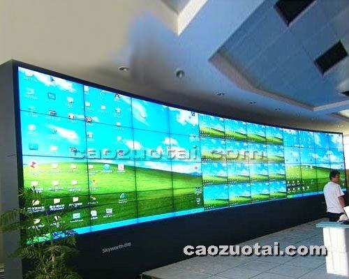 操作台网提供生产高档屏幕墙厂家