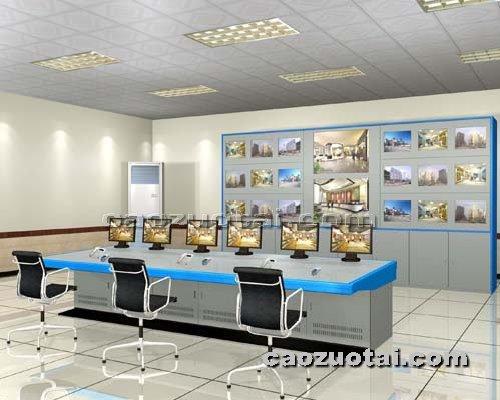 操作台网提供生产多媒体豪华电视墙厂家